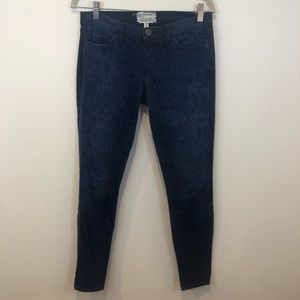 Current/Elliott Ankle Skinny Jeans in Animal print